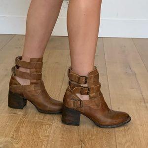 Freebird buckle boots